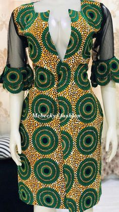 - Women's style: Patterns of sustainability Short African Dresses, Latest African Fashion Dresses, African Print Fashion, African Print Skirt, African Traditional Dresses, African Attire, Mode Style, The Dress, Kitenge