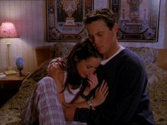 Piper & Leo - Brian Krause as Leo comforting his wife on Charmed. He is so Loving :)