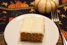 Home is Where My Story Begins: Sally Blake's Pumpkin Cake