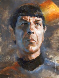 Star Trek: Mr. Spock Artwork