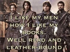 So true. (The Musketeers)