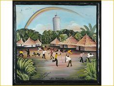 Tshibumba Kanda Matulu, De etnische strijd tussen de Luba en Lulua in Luluabourg (Kananga). Collecties online - Tropenmuseum