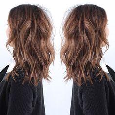 Long lob                                                                                                                                                                                 Mais #haircut