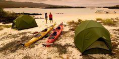Exploring the #Galapagos by #kayak plus beach #camping!