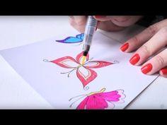 Five Ways to Use the Spectrum Noir Sparkle Pens