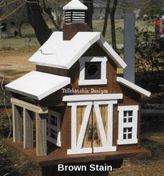 Barn Birdhouse, Rustic Barn Birdhouse, Primitive Barn Birdhouse, - to deal coupon Small Buildings, Metal Buildings, Reclaimed Barn Wood, Rustic Barn, Birdhouse Designs, Birdhouse Ideas, Unique Birdhouses, Mailbox Ideas, Bird House Feeder