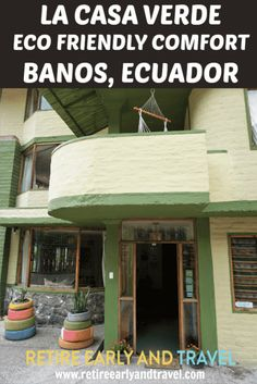 La Casa Verde Eco Guest House is located in Banos, Ecuador.