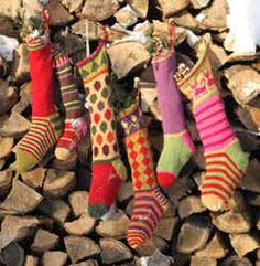 Kristin Nicholas brings you a fabulous Christmas Stocking Pattern in 4 sizes and 6 designs. Pattern includes both simple stripe one color knitting designs and Fair Isle two color knitting. Knit Stockings, Knitted Christmas Stockings, Christmas Knitting, Crochet Christmas, Knitting Socks, Hand Knitting, Knit Socks, Wedding Gifts For Newlyweds, Fair Isle Chart