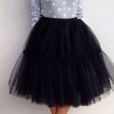 Tulle skirt from Space 46 Boutique