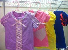 Princess Tshirt Costumes!!!