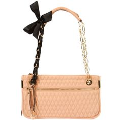 Delia Qulited Bow Bag