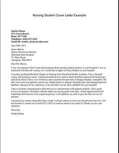 cover letter template for nursing Sample Nursing Cover Letter Example. New Grad Nurse Cover Letter . Rn Resume, Nursing Resume, Student Resume, Sample Resume, Resume Format, Resume Help, Manager Resume, Nursing Cover Letter, Writing A Cover Letter