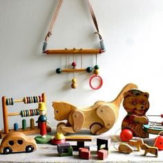 Wooden toys stand the test of time!