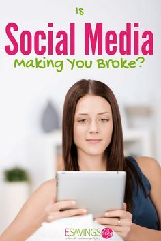 Is Social Media Making You Broke? See how your social media habits can be affecting your finances.