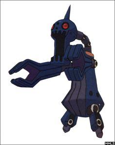 Mega Man Legends Reaverbot 3