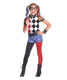 DC Superhero Girls: Harley Quinn Costume - Kids