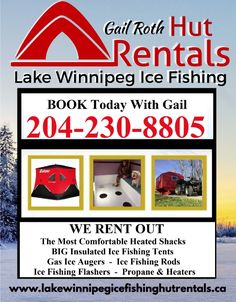 Lake Winnipeg Ice Fishing Rentals