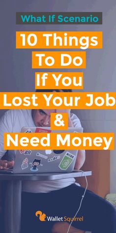 Had a horrible nightmare about you losing your job? Do not worry, here are 10 things to do if you lost your job & need money. Best Money Saving Tips, Saving Money, Money Tips, Need Money Now, How To Make Money, Lost My Job, Job Quotes, Work From Home Moms, Money Matters