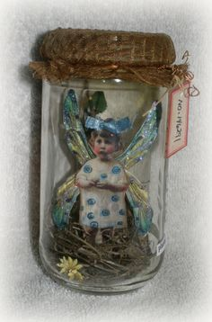 Fairy Jar - handmade gift