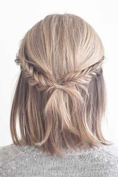 25 Cute And Easy Hairstyles For Short Hair Hairstyles
