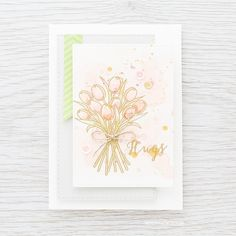 Stamped watercolored background. Find out more by clicking on the following link: http://limedoodledesign.com/2016/02/stamped-watercolored-background-top-watercolor/
