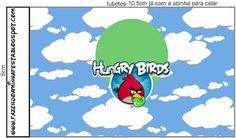 Angry Birds - Kit Completo com molduras para convites, rótulos para guloseimas, lembrancinhas e imagens!