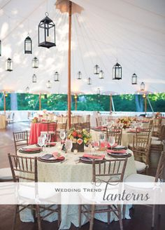 some great Lantern wedding decoration ideas | Steel Petal Press