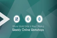 Attune World Wide Is Now Offering Weekly Technology Workshops Online_ http://attuneww.com/blogs/attune-world-wide-now-offering-weekly-technology-workshops-online.html