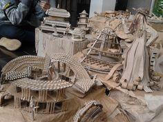 Pabrik Recycle di lereng perbukitan :D