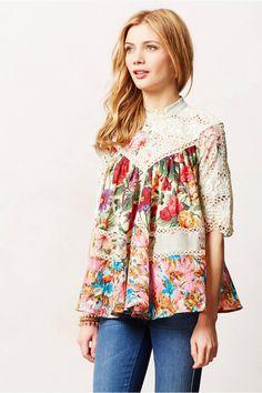 clothingblouses & buttondownsfrangipani peasant top Frangipani Peasant Top $395.00