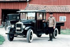 20th of februari 1928, Volvo built her first truck. Congratulations with your 90th birthday from this 99-years old! ;-)