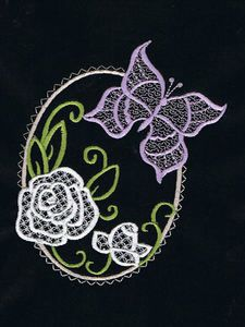 Butterfly Slendour Quilt - Free Instant Machine Embroidery Designs