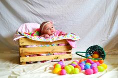 4 month old Alice's first Easter