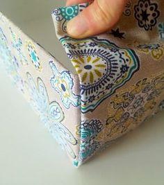 Comment réaliser une boîte de rangement en tissu? – Mon Totem
