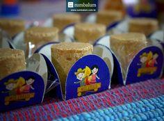 Paçocas em forminhas no tema para festa junina infantil f6e996d414d
