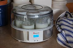 Homemade yogurt machine and a step by step tutorial with photos