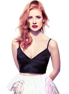 """Jessica Chastain by Michael Rossato for InStyle, February 2013    """"There were a couple of times when I thought, 'Maybe I should dye my hair blonde?' I'm in LA and I'm thinking, 'Why can't I get an audition for a film?' Being a redhead and not having very conventionally modern looks, it was confusing for people and they didn't know exactly where to put me."""""""