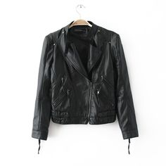 Inspiration: Our group decided to do a leather jacket for our design because it is very hard to find a perfect leather jacket. There are a lot of changes that could help this design to be what we desire. Some examples would be the shape, arm length, amount of zippers, and what kind of collar.