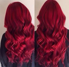 Red Violet Hair, Red Blonde Hair, Dyed Red Hair, Bright Red Hair, Red Hair Color, Bright Hair Colors, Brown Hair Colors, Elumen Hair Color, Red Hair Inspo