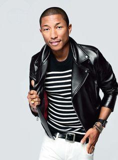 Pharrell Williams para GQ USA Febrero 2015