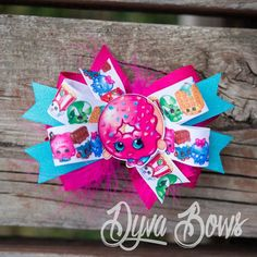 Shopkins bow Shopkins Shopkins hairbow shopkins by Bowsdyva