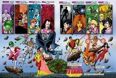 Teen Titans Origins george perez