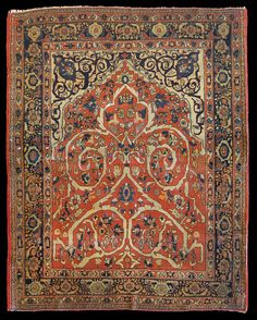 Antique Tabriz Haji Jalili carpet, 172 x 193 cm