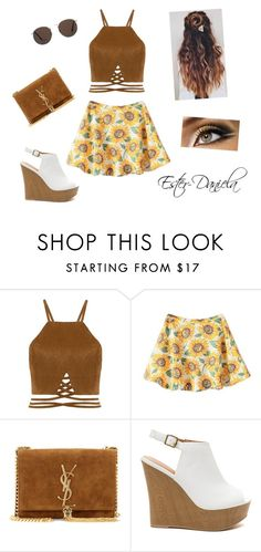 """completo 16"" by ester-daniela on Polyvore featuring moda, Yves Saint Laurent e MANGO"