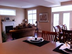 Great Room & Dining Room