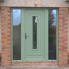 Composite External Doors, Composite Front Door, Seville, Northern Ireland, Chalk Paint, Porch, Garage Doors, Composition, Interior Design