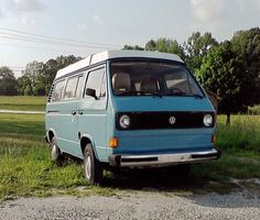 1980 VW Vanagon Westfalia. @brownsugarhoney this was almost exactly like mine in high school, but it broke down majorly twice! Cost me thousands! Bad model/year (air cooled/automatic). But how cute!