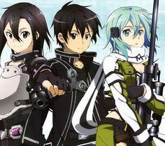 Sword Art Online kirito e sinon