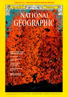 National Geographic - March 1975 - Molten Lava