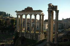Tempio della Concordia e dei Dioscuri,  via Sacra